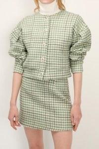 storets Mia Check Jacket And Skirt Set