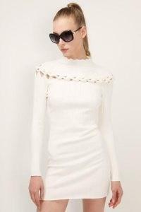 storets Ella Braid Detail Knit Dress   knitwear   dresses