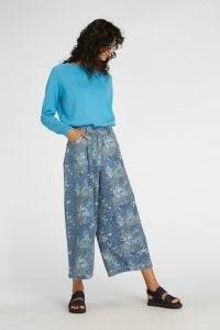 gorman JUNGLE BLUES JEAN / animal print jeans / printed denim