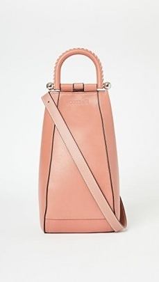 JW Anderson Small Wedge Bag Powder Pink