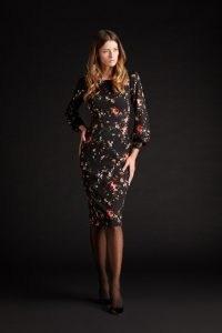 goat KARIS PENCIL DRESS ~ rosebud print dresses