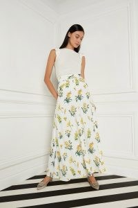 goat LAKE MEADOW LONG SKIRT ~ floral maxi skirts