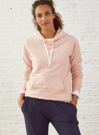 Baukjen Marte Organic Hoodie / pink hoodies / loungewear