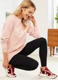 Baukjen Marte Organic Longline Sweatshirt Rose