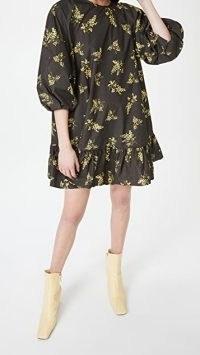 Naya Rea Stella Dress / floral voluminous sleeve dresses