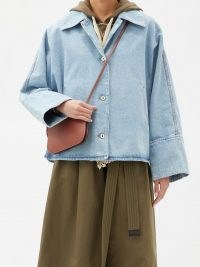 LOEWE Oversized denim jacket ~ casual jackets