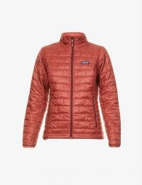 PATAGONIA Nano Puff recycled shell jacket in Spanish Red