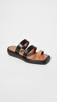 Rejina Pyo Larissa Sandals 30mm Brown / Black