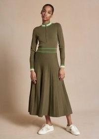 meandem Stripe Detail Knit Dress