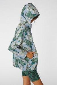 gorman Camilla Perkins X gorman TIGER QUEEN RAINCOAT / hooded animal print rain jacket