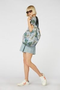 Camilla Perkins X gorman TIGER QUEEN TOTE / animal print bags