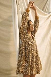 Let Me Be Jemma Tunic Dress ~ floral print dresses