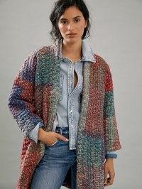 Dhruv Kapoor Sharona Quilted Kimono Jacket