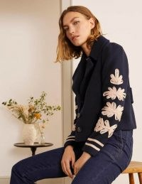 BODEN Canterbury Jacket in Navy / dark-blue short length jackets