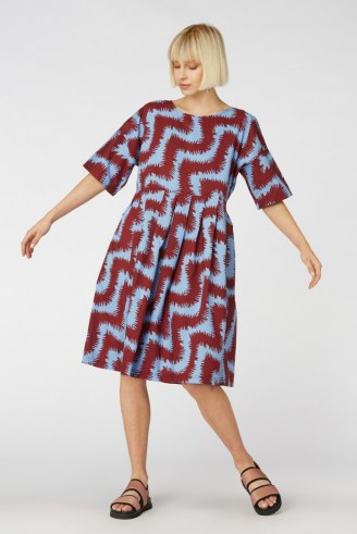 gorman FUZZY TIGER SADIE DRESS – loose swing fit dresses