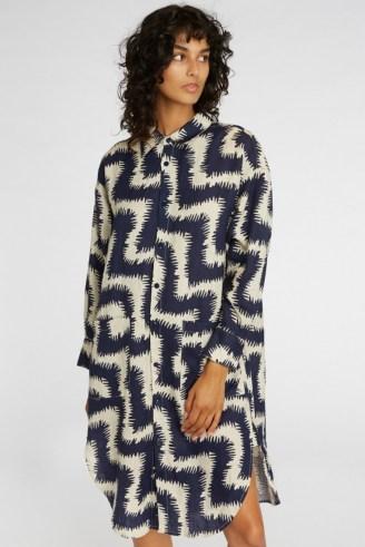gorman FUZZY TIGER SHIRT DRESS - flipped
