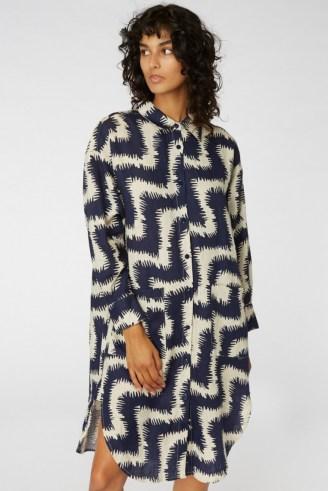 gorman FUZZY TIGER SHIRT DRESS