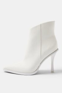 TOPSHOP HANDSOME White Point Boots