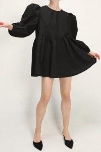storets Catalina Puff Sleeve Dress   dresses with volume   voluminous fashion   balloon