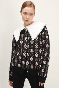 storets Journee Floral Cardigan / cardigans / knitwear