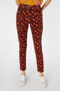 gorman IN DISGUISE CORD JEAN – patterned cords – colourful corduroy trousers