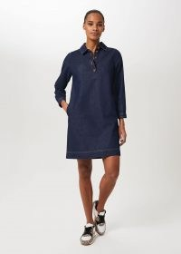 HOBBS JENNY DENIM DRESS