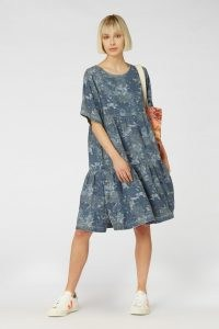 Camilla Perkins X gorman JUNGLE BLUES DRESS