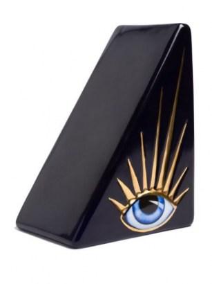 L'Objet Lito bookend ~ contemporary eye motif bookends ~ home accessories