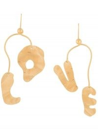 Marni LOVE abstract drop earrings