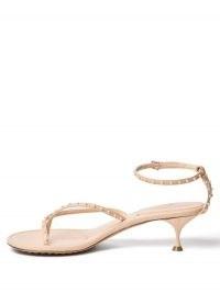 BOTTEGA VENETA Nappa Lagoon Bubble pink-leather sandals