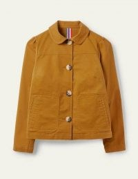 BODEN Pocket Detail Jacket – Frankincense / casual jackets