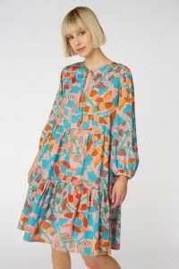 gorman Serpentine Dress – loose tiered dresses – snake prints