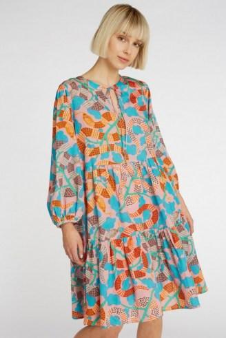 gorman Serpentine Dress – loose tiered dresses – snake prints - flipped