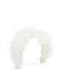 STEPHEN JONES Shine floral-appliqué headband ~ bridal hair accessories ~ wedding day headbands ~ floral applique ~ beaded