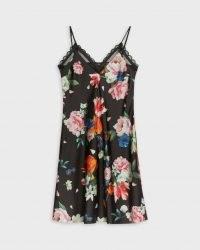TED BAKET DODDL Strappy Sandlewood chemise / nightwear / floral nighties / chemises / cami strap slips / nightwear