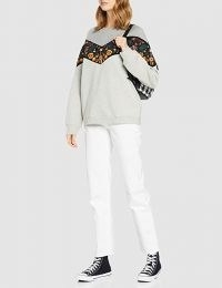 Amazon UK Superdry Women's Crafted Folk Raglan Sweat Sweater