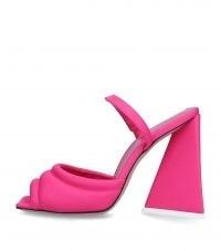 THE ATTICO Devon Sandals 115 in Pink