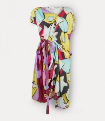 Vivienne Westwood JOHANNA DRESS ONE FUN SEPTEMBER ~ bold and vibrant printed dresses