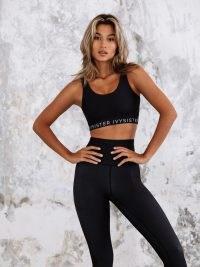 IVYSISTER NORTH HIGH RISE LEGGING ~ black sports leggings