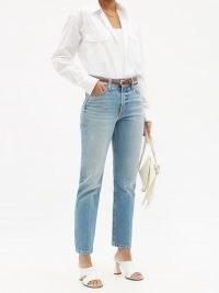 B SIDES Arts straight-leg jeans