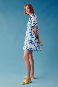 Peter Som for Anthropologie Cressida Tunic Dress | printed cotton mini dresses for summer
