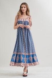 M.A.B.E. Madi Print Maxi Dress | boho floral print summer dresses