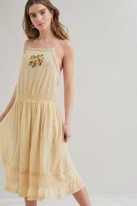 M.A.B.E. Mara Sundress / feminine yellow sundresses