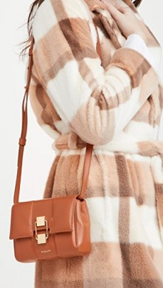 DeMellier Mini Alexandria Bag Deep Tan – small brown shoulder bags – crossbody