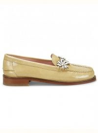 Rogue Matilda DITSY LOAFER TAN COATED LEATHER ~ footwear at YBD