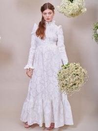 sister jane DREAM Margaret Jacquard Maxi Dress ~ romantic fashion ~ vintage style bridal dresses ~ spring wedding