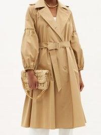 MAX MARA Empoli coat ~ camel coloured trench coats