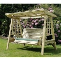 Wayfair Serena Swing Seat by Freeport Park | Rot Free | Pressure Treated