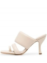 Gia Couture x Pernille Teisbaek leather mules ~ padded mule sandals
