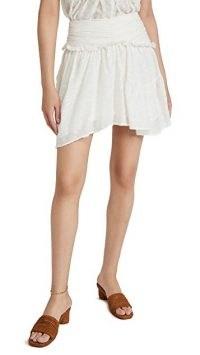 IRO Nixie Skirt – frill detail summer skirts